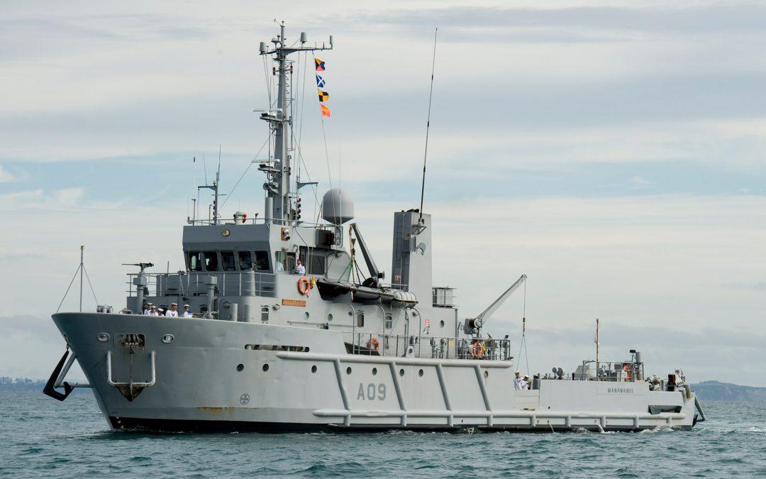 43m/141ft HMNZS Manawanui